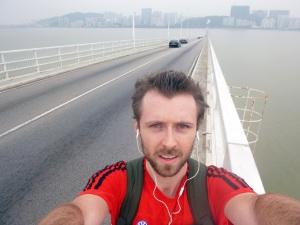 One very long bridge!