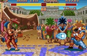 Street Fighter Super Nintendo
