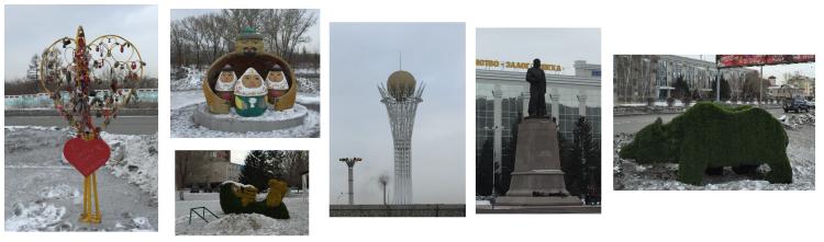 Statues Ust Kamenogorsk