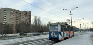 Ust-Kamenogorsk Tram