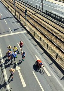 Lisbon Half Marathon Above