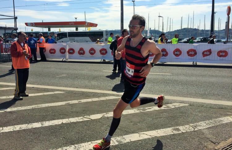 Lisbon Half Marathon Finish Line