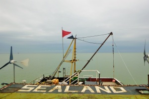 Sealand from the helipad