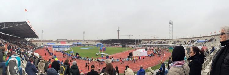 The Olympic Stadium (ok, this is the finish line but I was kinda busy at the start!)