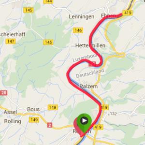 Route Du Vin Map