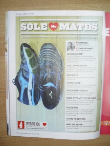 Men's Running Solemate Article