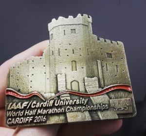 Cardiff World Half Marathon Championships Medal