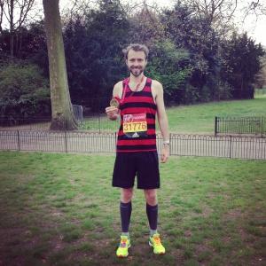 London Marathon Finish Medal