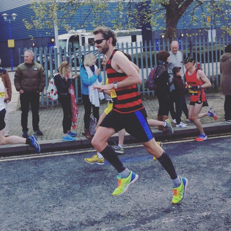London Marathon Mid Way