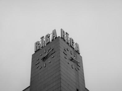 Riga Half Marathon Clock