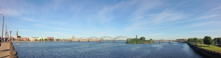 View of Riga and the Daugava