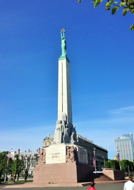 Riga's Freedom Monument