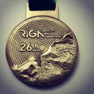 Riga Half Marathon Medal