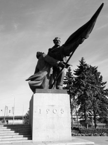 One of the many imperial/Soviet statues