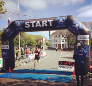 Torshavn Half Marathon Faroe Islands Finish Line
