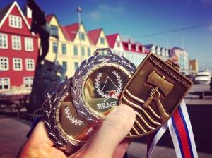 Torshavn Half Marathon Faroe Islands Medals