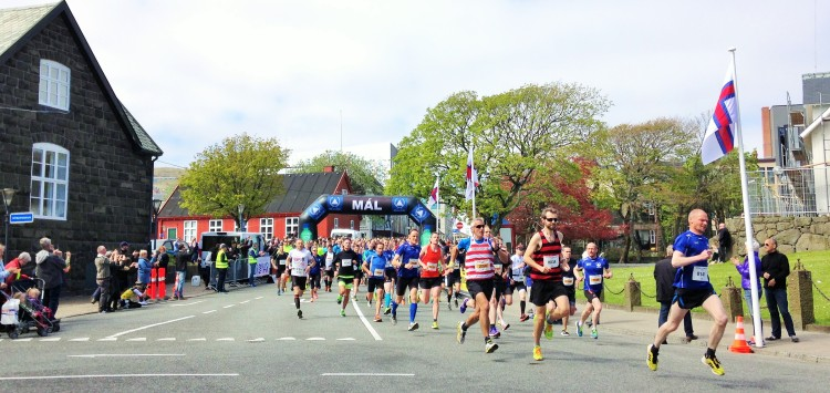Off we go - Where's Wally and Dennis the Menace in the lead!