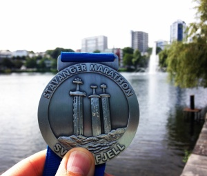 Stavanger Half Marathon 2016 Medal