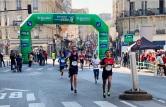 Simon Messenger Paris Marathon Simon Halfway 14 April 2019