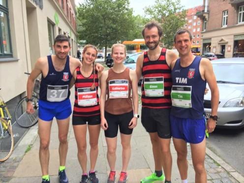 Copenhagen Half Marathon Simon Messenger 15 September 2019 Pre Race